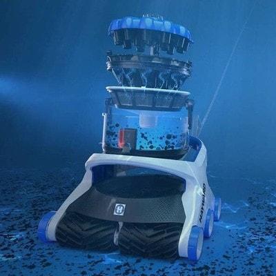 Робот-пылесос Hayward AquaVac 650 (фото, Hayward AquaVac 650)