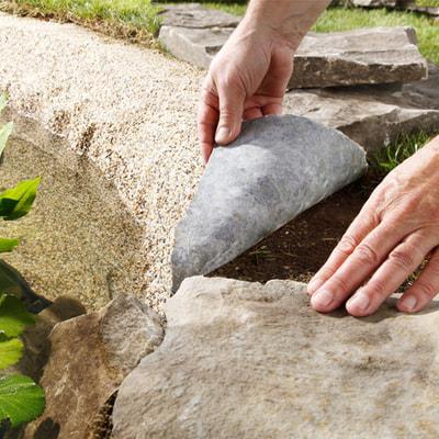 Пленка с камнем 0,6 м (фото, Плёнка с гравием HEISSNER 0,6 м)