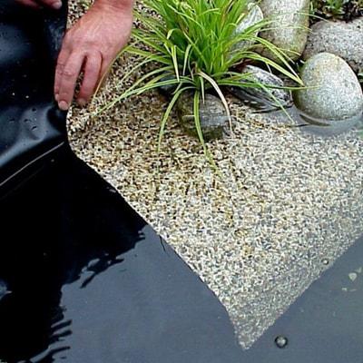 Пленка с камнем 0,4 м (фото, Плёнка с гравием 0,4 м HEISSNER )