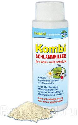 Биопрепарат от ила Kombi (фото, Биопрепарат Kombi )