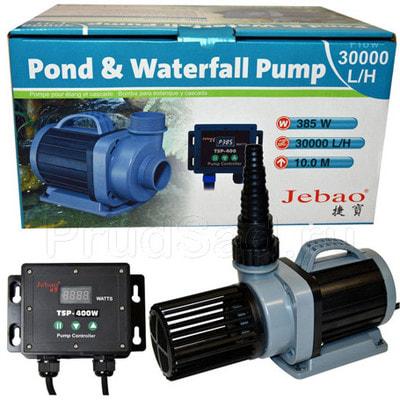 Насос для пруда TSP 30000 с регулятором (фото, Насосы для водопадов и фильтрации Jebao TSP 30000)