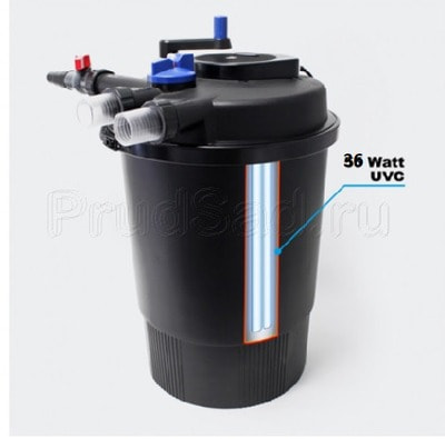 Напорный фильтр для пруда Pondtech CPF-20000 40м3 (фото, Напорный фильтр для пруда Pondtech CPF-20000 40м3)