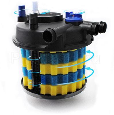 Напорный фильтр для пруда до 12м3 CPF-10000 (фото, Напорный фильтр для пруда до 12м3 CPF-10000)