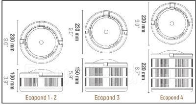 Фильтрующий фонтан для пруда ECO POND 2 (фото, Фильтрующий фонтан для пруда ECO POND 2)