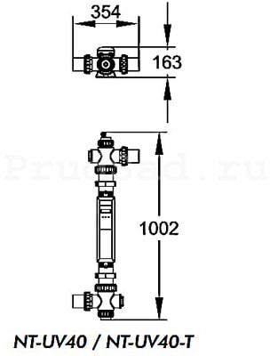 Ультрафиолетовая установка Aquaviva Nano Tech UV40 Timer (фото,  Ультрафиолетовая установка Aquaviva Nano Tech UV40 Timer )