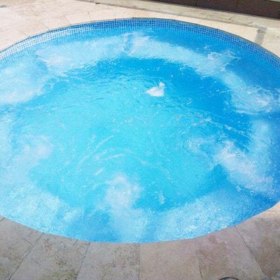Лайнер Cefil мозаика голубая Gres (фото, Пленка мозаика голубая Gres)
