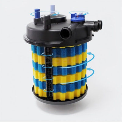 Фильтр для пруда до 40м3 CPA-20000 (фото, вид 1)