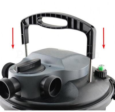 Фильтр для пруда и водоема до 9м3 Jebao CBF-9000 (фото,  Фильтр для пруда Jebao CBF-9000)