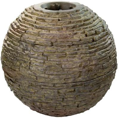 """Декоративный фонтан """"Ваза"""" каменная сфера (средняя) (фото, Фонтан"""