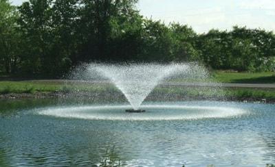 Плавающий фонтан аэратор Pondtech HP 100K (фото, Плавающий фонтан аэратор Pondtech HP 100K )