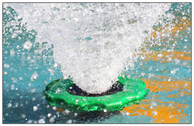 Плавающий фонтан аэратор SS-20000 (фото, Плавающий фонтан аэратор SS-COP-10000)
