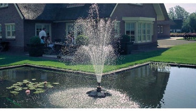 Плавающий фонтан Pond-Jet Eco (фото, Плавающий фонтан Pond-Jet Eco)