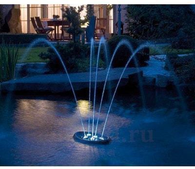 Плавающий фонтан для пруда Water Starlet (фото, Плавающий фонтан для пруда Water Starlet)