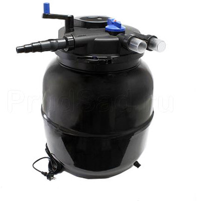 Напорный фильтр для пруда 80м3 CPF-50000 (фото, Напорный фильтр 80м3 Pondtech CPF-50000)