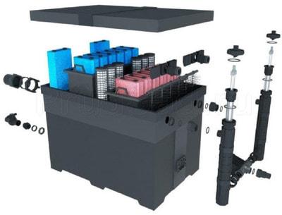 Фильтр для пруда и водоема до 180м3 Pondtech Bio- Filter 130 (фото)