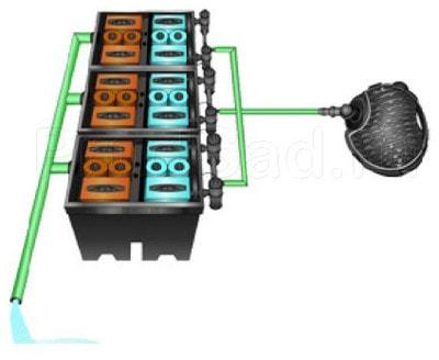 Фильтр для пруда и водоема до 150м3 Pondtech Bio- System 3