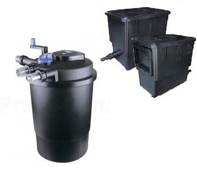 """Комплект для фильтрации пруда до 40 м3 """"CPF-20000"""", УФ-лампа 36 Вт, насос, скиммер"""