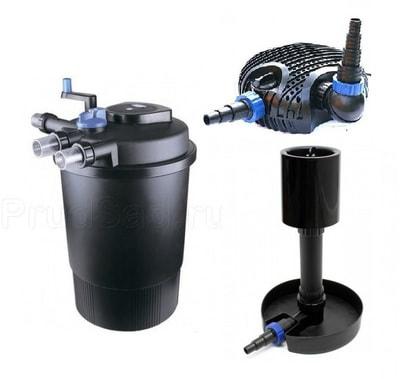 Комплект для фильтрации пруда до 30 м3