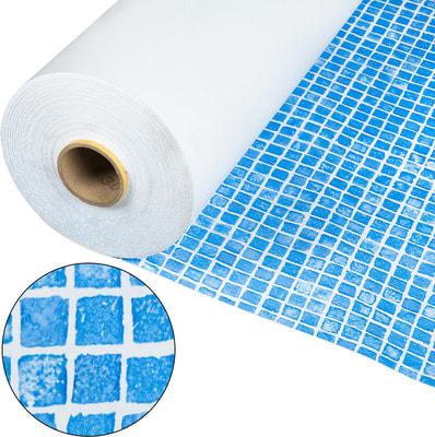 Лайнер Cefil мозаика голубая Gres (фото, Лайнер Cefil мозаика голубая Gres)