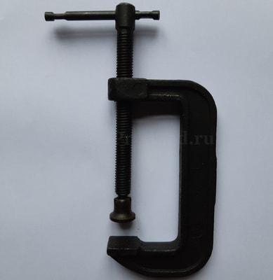 Струбцина G-образная 100 мм МТЗ (фото, Струбцина G-образная 100 мм МТЗ)