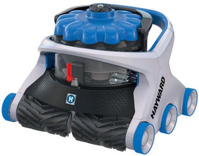 Робот-пылесос Hayward AquaVac 650 (фото, Робот-пылесос Hayward AquaVac 650)