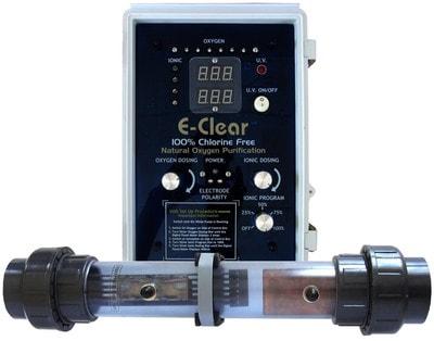Бесхлорная система дезинфекции воды E-CLEAR MK7/CF1 (фото,  Бесхлорная система дезинфекции воды E-CLEAR MK7/CF1)