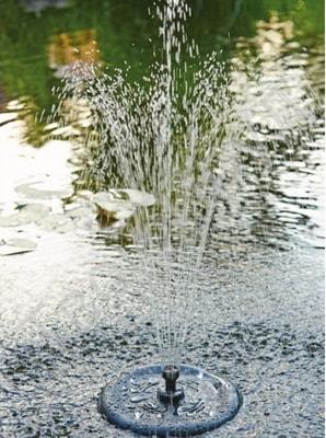 Плавающий фонтан Pontec PondoSolar 1600 (фото, Плавающий фонтан Pontec PondoSolar 1600)