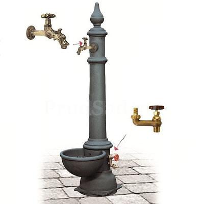 Водопроводная колонка чугунная Monachella Grande Trevi (фото, Водопроводная колонка чугунная Monachella Grande Trevi)