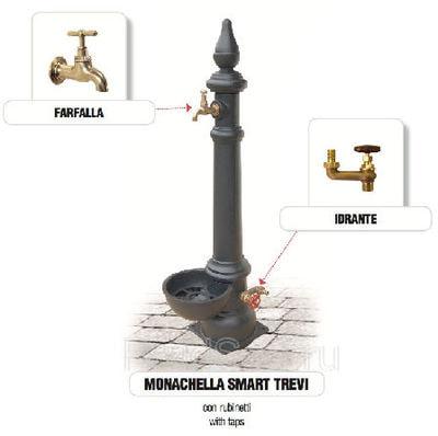 Водопроводная колонка чугунная Monachella Smart Trevi (фото, Водопроводная колонка чугунная Monachella Smart Trevi)