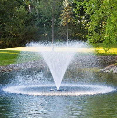 Плавающий фонтан аэратор Pondtech HG 750C (фото, Плавающий фонтан-аэратор Pondtech HG 750C)