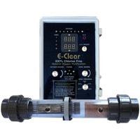 Бесхлорная система дезинфекции воды E-CLEAR MK7/CF1