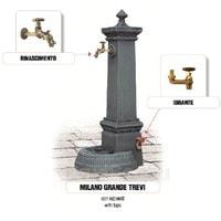 Водопроводная колонка чугунная MILANO GRANDE TREVI