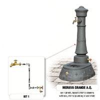 Водопроводная колонка чугунная MORAVA GRANDE AQ